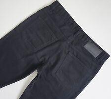 CALVIN KLEIN STRAIGHT LEG BLACK Jeans Men's, Authentic BRAND NEW (41BA724)