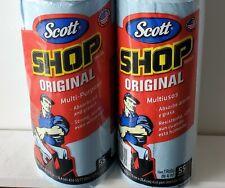 Shop Towels 2 Rolls Lot Scott