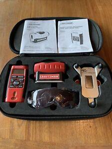 Craftsman Laser Track Set Model 48252 And Model 48251 w/ Precision Leveling Base