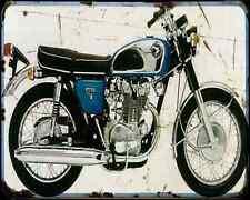 Honda Cb450K1 1 A4 Metal Sign moto antigua añejada De