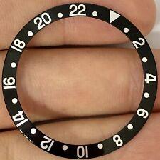 Rolex GMT-Master II 16700 16710 16760 Super Fat Font Black Bezel Insert ORIGINAL