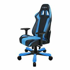 DXRacer King Series OH/KS06/NB Racing Bucket Seat Big Tall Gaming Chair BLUE