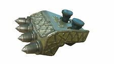 """Pengo Style 16"""" Bullet Shank Plate with Bolts Nuts and Carbide Rock Teeth"""