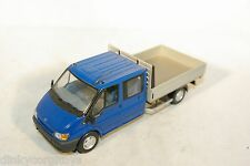 MINICHAMPS FORD TRANSIT PICKUP PICK UP PICK-UP DOUBLE CABINE MINT COND.
