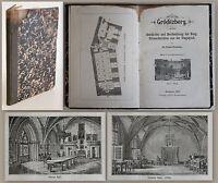 Wernecke -Gröditzberg. Geschichte und Beschreibung der Burg 1880 -Illustriert xz