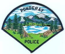 PONDERAY POLICE Idaho