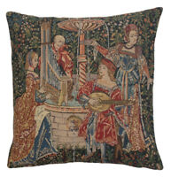 The Concert Belgian Tapestry Decorative Cushion Cover