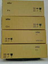 Komplette Anlage Braun Atelier HiFi, schwarz, NEU, OVP, ungeöffnet, R4,P4,CD4,C4