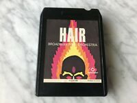 Hair Broadway Pops Orchestra 8-Track Tape 1969 Radiant 512-0108 RARE! OOP!