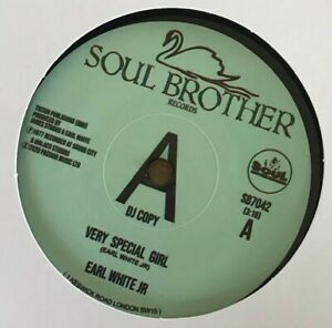EARL WHITE Jr.  - VERY SPECIAL GIRL  (SOUL BROTHER DEMO) CROSSOVER SOUL