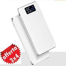 2USB Power Bank 100000mAh Carica Batteria Portatile Universale idea regalo