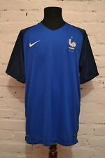 FRANCE HOME FOOTBALL SHIRT 2016/2017 SOCCER JERSEY MAILLOT NIKE MENS XL