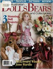 AUSTRALIAN DOLLS BEARS & COLLECTABLES MAGAZINE Vol 7 No 1 FULL SIZE PATTERNS NEW