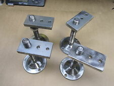 (Lot of 4) Equipment Leveling Feet 5 inches Tall, 3 inch base 5/8-11 Thread