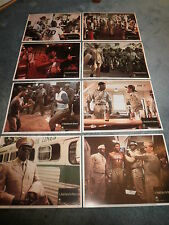 A SOLDIER'S STORY(1984)HOWARD ROLLINS JR. LOBBY CARD SET OF 8 NICE!