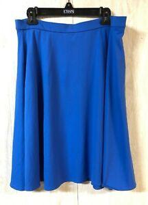 Cynthia Rowley Womens XL Blue Long Modest Sports Pocket Swim Cover-Up