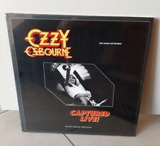 Ozzy Osbourne (Black Sabbath) Captured Live 3 LP Box