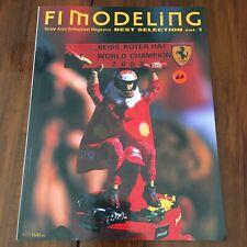F1 Modeling Magazine Best Selection VOL 1 Formula 1 1/20 1/12 Tamiya Studio 27