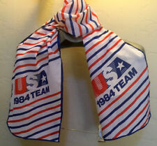Vtg TEAM USA Los Angeles OLYMPIC TEAM Neck Scarf 1984 Olympics