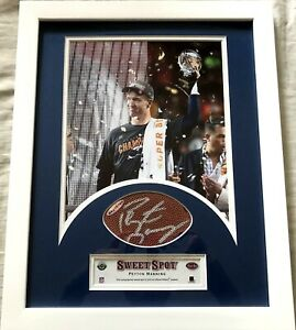Peyton Manning signed autographed Broncos Super Bowl 50 8x10 photo framed UDA