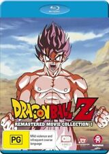 Dragon Ball Z Remastered Movie Collection 1 (Uncut) - Goku NEW B Region Blu Ray