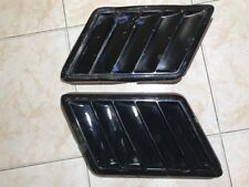 Used 1978 1979 Camaro Z28 GM Black Fender Vents Grilles Grill Extractor Vents