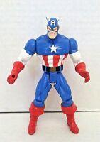 Marvel Legends Captain America Action Figure Toy Biz 1996 6in Loose
