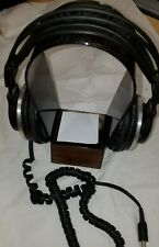 AKG K340 Electrostatic- Dynamic System Headphones w/ Leather Headband -Black