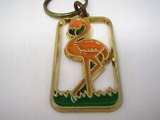 Vintage Keychain: Flamingo