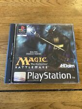 Magic the gathering Spiel für Play Station One (ps1) boxed mit Anleitung PAL