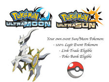 Pokemon Ultra Sun and Moon Corocoro Arceus Japan Event Pokemon