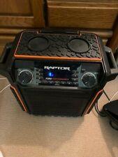 Ion Raptor bluetooth speaker and radio