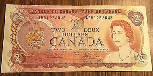 1974 CANADA 2 DOLLARS BANK NOTE 2$