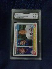 1983 TOPPS#702 HR LEADERS JACKSON/THOMAS/KINGMAN   CARD GRADED A 8.5 NM-MT