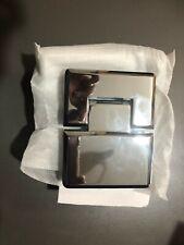 Alumax 180 Degree Beveled Polish Chrome Heavy Glass Hinge G03286450