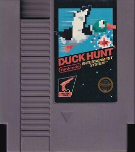 DUCK HUNT (1985) nes nintendo black label classic 5-screw us NTSC USA IMPORT