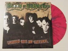 BLOOD OR WHISKEY Cashed Out On Culture LP RED SPLATTER VINYL folk punk UNPLAYED