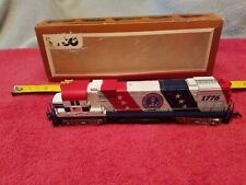 1970'S VINTAGE TYCO HO SCALE SPIRIT OF '76 ALCO 4301 DIESEL W/BOX