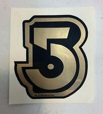 Babylon 5 Black & Gold Sticker 3.5� X 3.25�