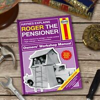 Personalised Haynes Explains Pensioners Book Retirement Christmas Gift