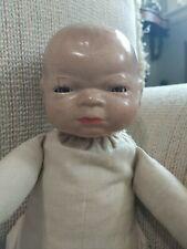 Haunted, possessed doll. Demonic entity