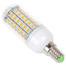 1pcs Universal E14 11W  69 LED SMD 5730 Light LED Corn Bulb Warm White 110V