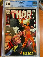 Thor #165 (1969) CGC 4.0 White Pages 1st Appearance of HIM (Adam Warlock) - MCU