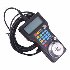 CNC 3 Axis USB Hand Wheel Pulse Generator MPG Pendant HB04 for Mach 3 Router