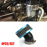 4x Air Intake Filter w/ Mount Clamp For Motorcycle ATV Scooter 50mm Universal