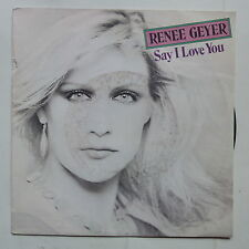 RENEE GEYER Say i love you A 2056