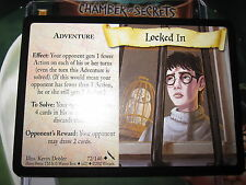 HARRY POTTER TCG GAME CARD CHAMBER OF SECRETS LOCKED IN 72/140 UNCO MINT ENGLISH