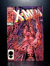 COMICS: Marvel: Uncanny X-men #205 (1986), Wolverine solo story - RARE