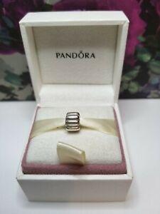 Authentic Genuine Pandora #790854 Double Ridge Clip