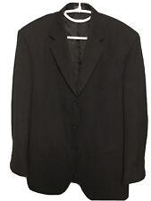 Mens Black 3 Button Suit Jacket About 46R